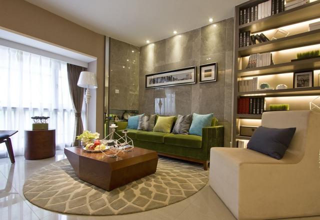 现代 二居室 130.0平米