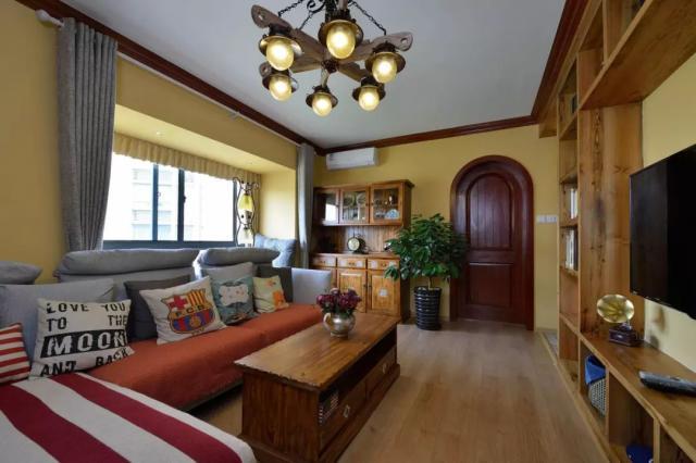 美式 三居室 80.0平米