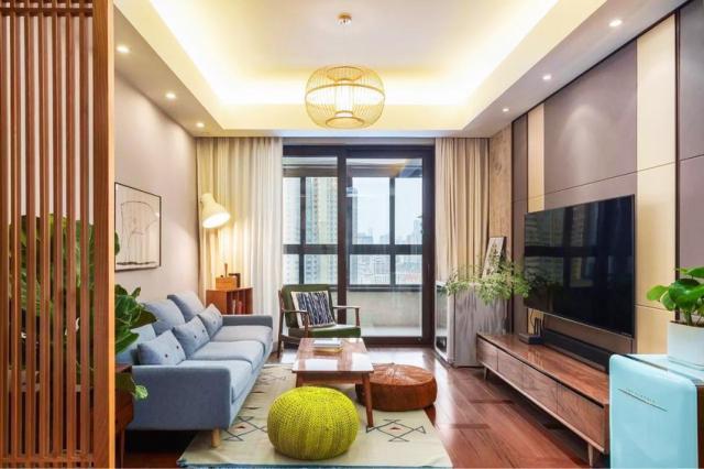 中式 一居室 82.0平米