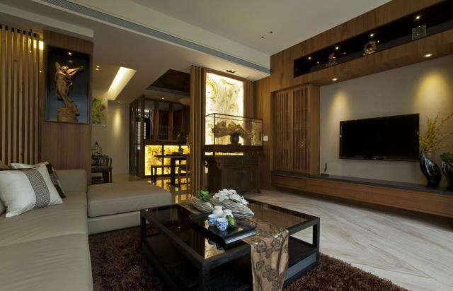 中式 二居室 160.0平米