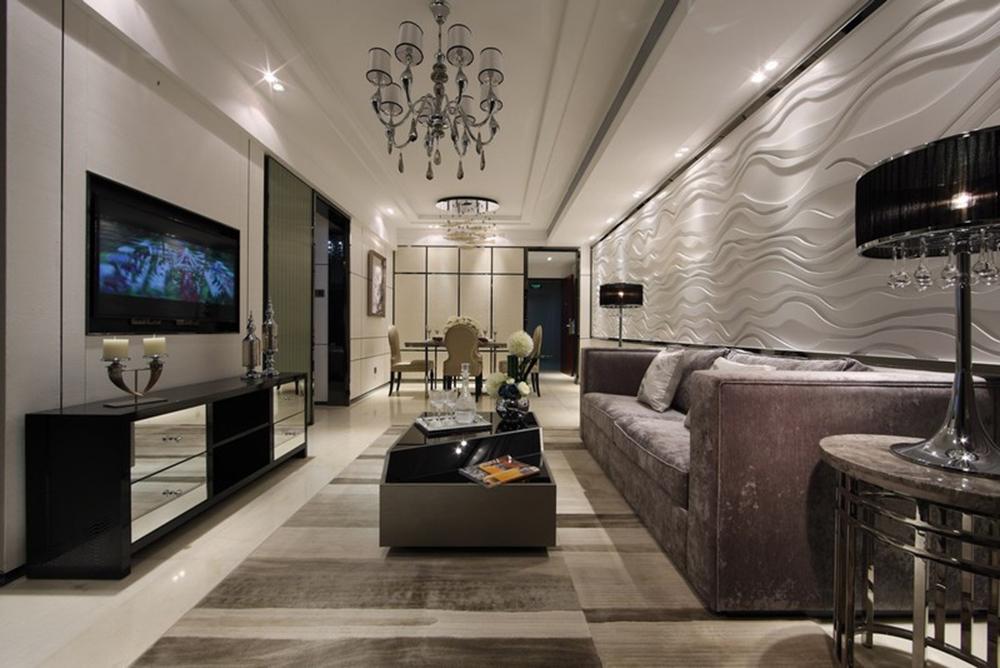 62㎡现代小公寓,显得童趣又精致舒适
